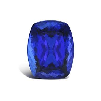 23.88ct Cushion Cut Tanzanite