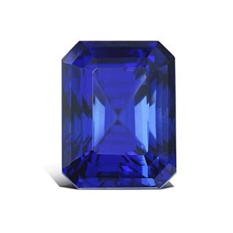 9.68ct Emerald Cut Tanzanite