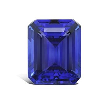 8.52ct Emerald Cut Tanzanite