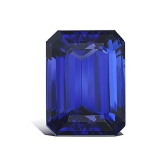 12.71ct Emerald Cut Tanzanite