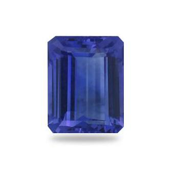 3.96ct Emerald Cut Tanzanite