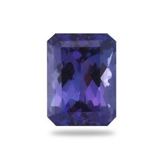 4.26ct Emerald Cut Tanzanite