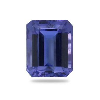 3.81ct Emerald Cut Tanzanite