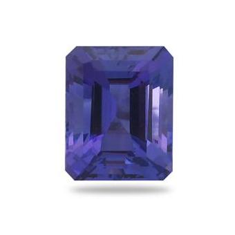 4.21ct Emerald Cut Tanzanite
