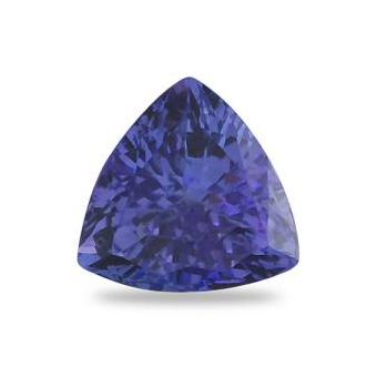 3.38ct Trillion Cut Tanzanite