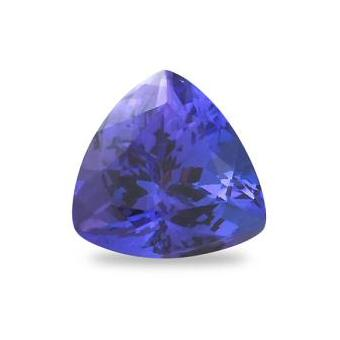 3.41ct Trillion Cut Tanzanite