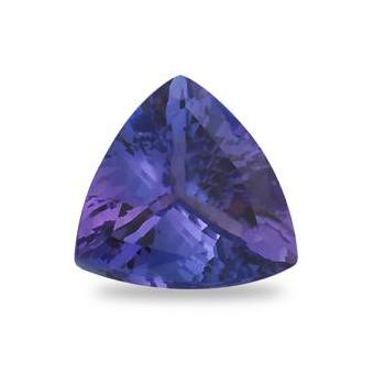 2.62ct Trillion Cut Tanzanite