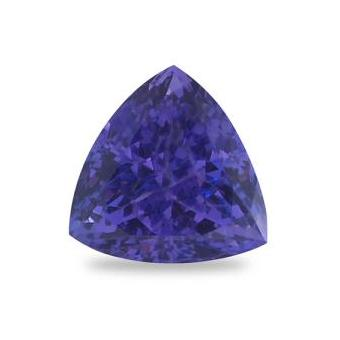 3.33ct Trillion Cut Tanzanite