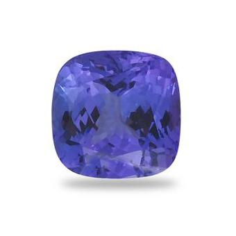 3.78ct Cushion Cut Tanzanite