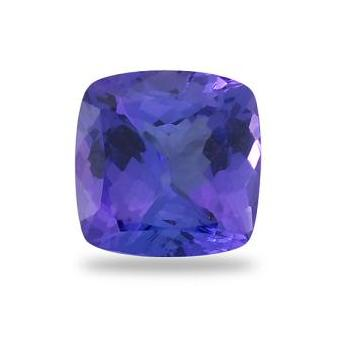 3.02ct Cushion Cut Tanzanite