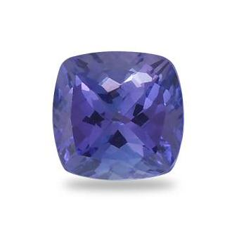2.54ct Cushion Cut Tanzanite