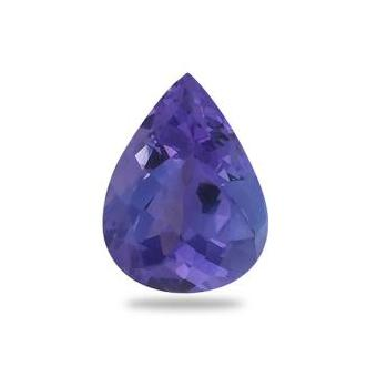 1.6ct Pear Shape Tanzanite