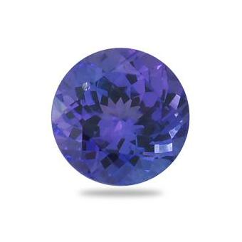 2.79ct Round Shape Tanzanite
