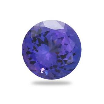 2.47ct Round Shape Tanzanite