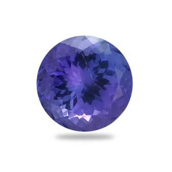 3.24ct Round Shape Tanzanite